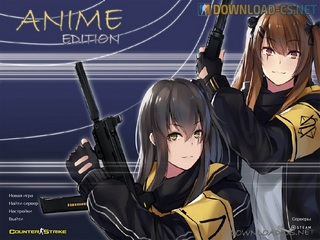 Counter-Strike 1.6 Anime