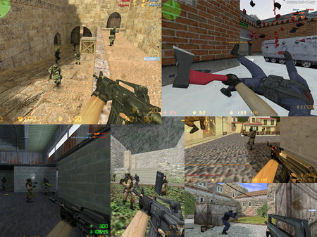 Все об игре Counter-Strike 1.6