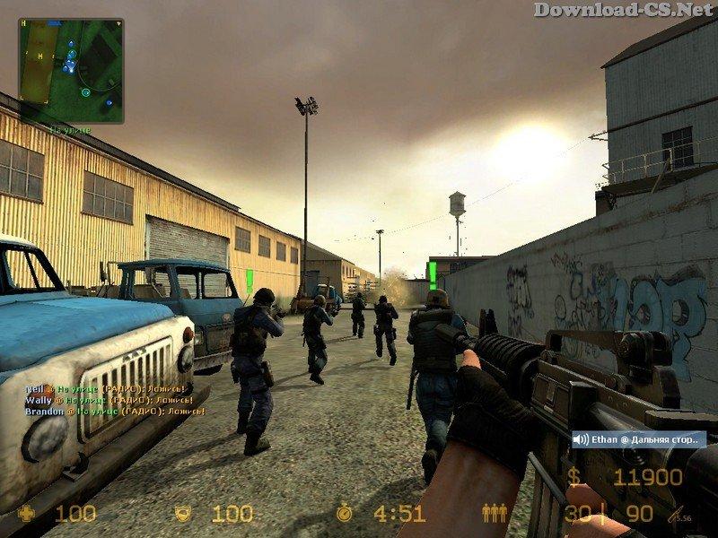 скачать бесплатно игру кс соурс V34 через торрент - фото 8