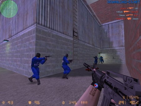 игра на карте cs_assault в кс 1.6