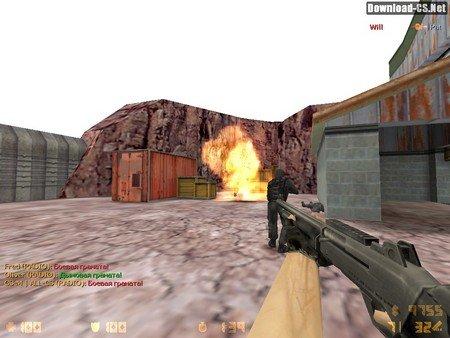 Тактика игры на de_nuke в CS 1.6