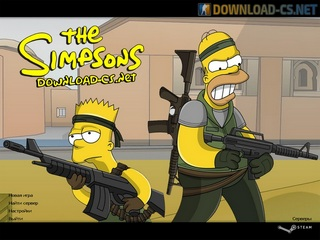 CS 1.6 Simpsons