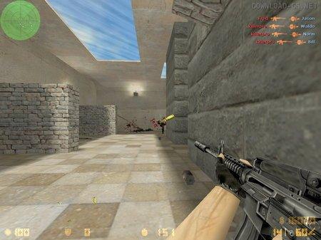 Стрельба в голову в Counter-Strike 1.6