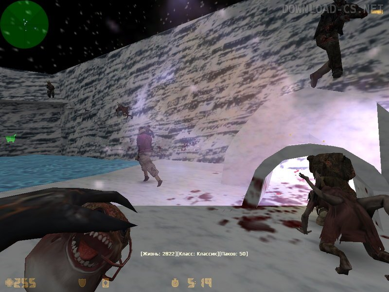 Counter strike 1. 6 зомби сервере admin+vip youtube.