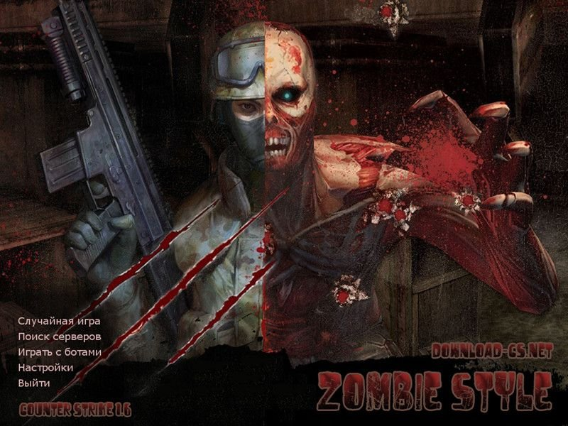 Counter Strike 1.6 Zombie Style