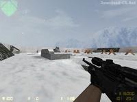 Карта «awp_winter» для CS 1.6