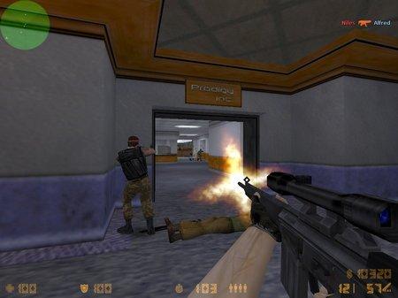 винтовка G3SG1 в кс 1.6